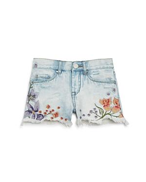 Blanknyc Girls' Embroidered Denim Shorts - Big Kid