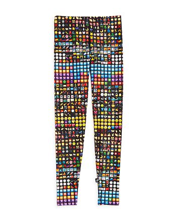 Terez - Girls' Emoji Leggings - Big Kid