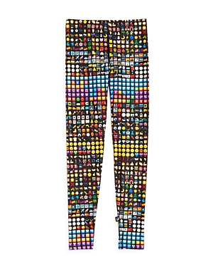 Terez Girls' Emoji Leggings - Big Kid