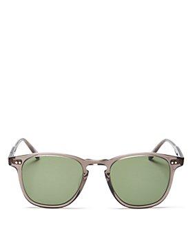 GARRETT LEIGHT - Men's Brooks Grey Crystal/G15 Sunglasses, 47mm