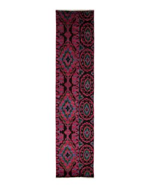 Ikat Collection Oriental Rug, 3' x 13'10