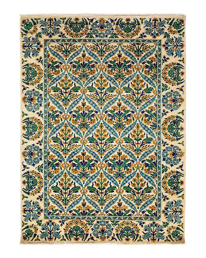 "Solo Rugs - Morris Collection Oriental Rug, 6'2"" x 8'8"""