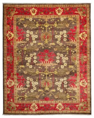 """Morris Collection Oriental Rug, 6'1"""" x 11'8"""""""