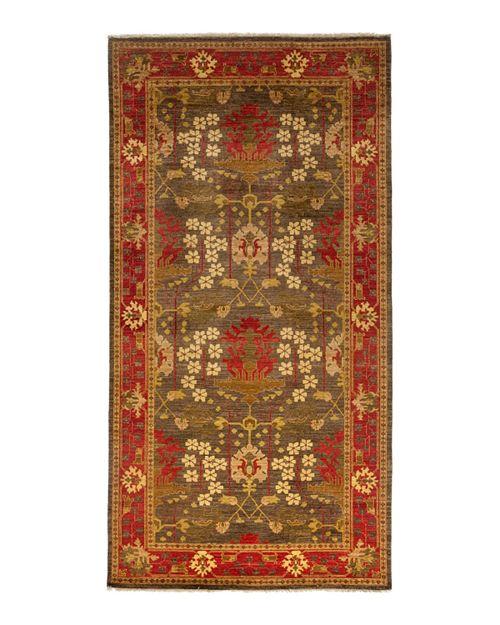 "Bloomingdale's - Morris Collection Oriental Rug, 6'1"" x 11'8"""