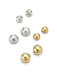 John Hardy Classic Chain Hammered Stud Earrings - Bloomingdale's_0