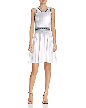 Milly Textured Stripe Dress