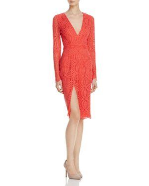 Stylestalker Sabine Geometric Lace Dress