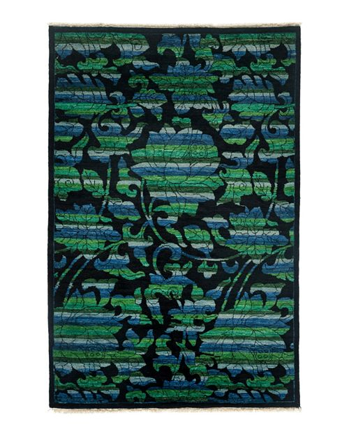"Bloomingdale's - Morris Collection Oriental Rug, 4'1"" x 6'3"""