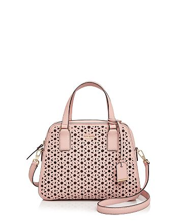 aa92b1310a9 kate spade new york - Cameron Street Little Babe Perforated Leather Satchel