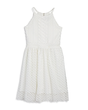 Bardot Junior Girls Lace Print Dress  Big Kid