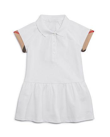 Burberry - Girls' Calin Drop Waist Dress - Baby