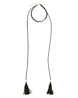 Gorjana Miller Layered Tassel Necklace, 12