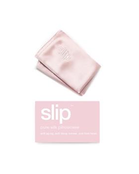 slip for beauty sleep - Silk Pillowcase, King