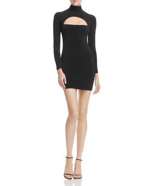 Nookie Charlize Long-Sleeve Cutout Mini Dress