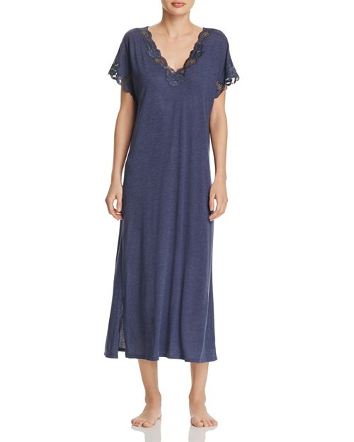 Natori Zen Floral Lace Nightgown | Bloomingdale\'s