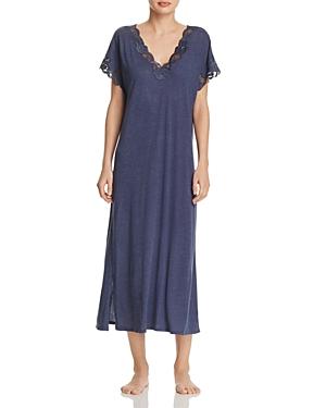Natori Zen Floral Lace Nightgown