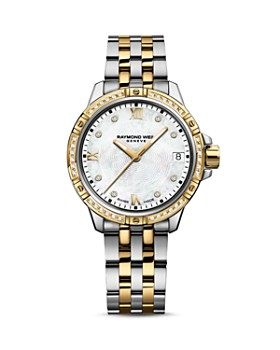 Raymond Weil - Tango Two Tone Diamond Bezel Watch, 30mm
