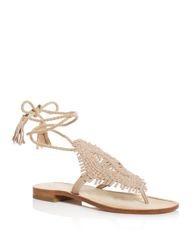 Joie Woven Tassel Sandals