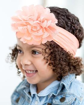 Baby Bling - Infant Girls' Eyelet Flower Headband