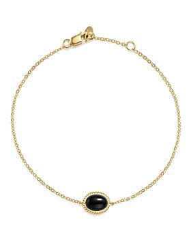 Bloomingdale's - Oval Gemstone Bracelet in 14K Yellow Gold - 100% Exclusive