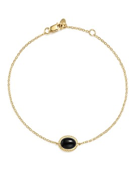 Bloomingdale's - Oval Gemstone Bracelet in 14K Yellow Gold - 100% Exclusive
