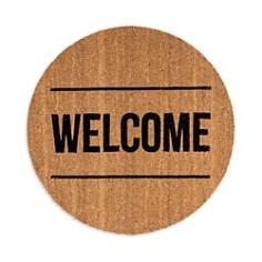 Bloomingville - Round Coir Welcome Door Mat