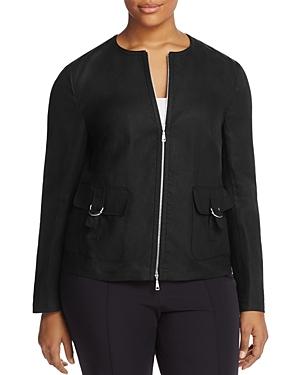 Basler Plus Zip Front Jacket