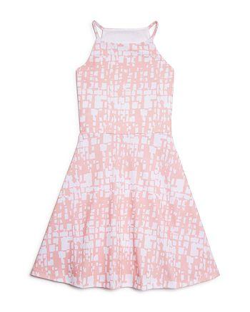 AQUA - Girls' Flared Dress - Big Kid