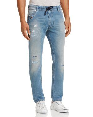 Diesel Krooley-ne Slim Fit Jogger Jeans in Denim