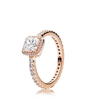 Pandora - 14K Gold, TK & Cubic Zirconia Timeless Elegance Ring