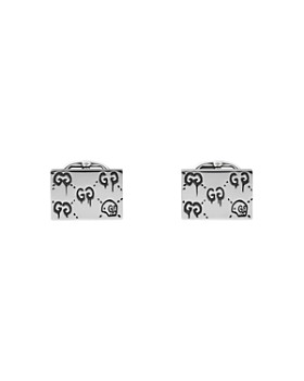 Gucci - Sterling Silver Gucci Ghost Cufflinks