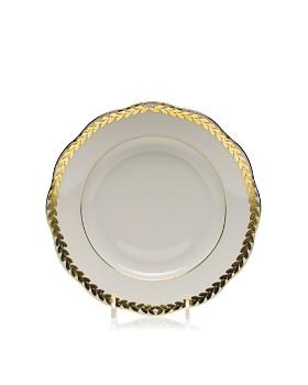 Herend - Golden Laurel Salad Plate
