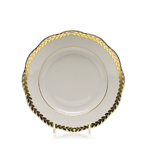 Herend Golden Laurel Salad Plate