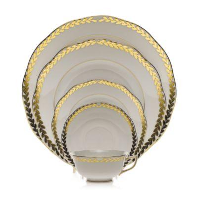 Golden Laurel Bread & Butter Plate
