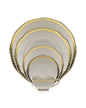 Herend - Golden Laurel Dinnerware Collection