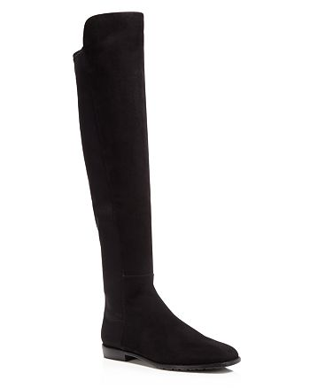 Stuart Weitzman - Women's Corley Suede Over-the-Knee Boots