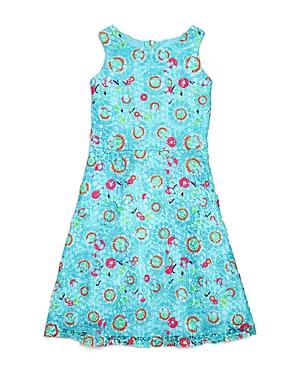 Blush By Us Angels Girls' Floral Lace Dress - Big Kid