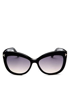 Tom Ford - Women's Allistair Cat Eye Sunglasses, 56mm