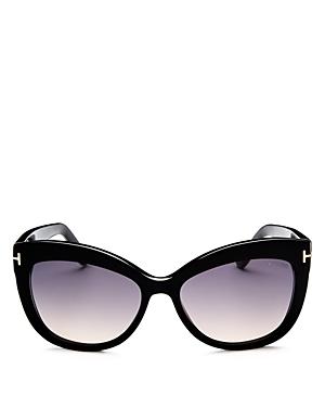 Tom Ford Women's Allistair Cat Eye Sunglasses, 56mm