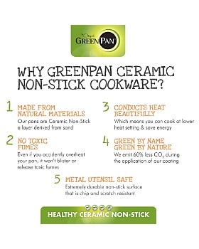 GreenPan - Valencia Pro 4.5-Quart Nonstick Covered Sauté Pan