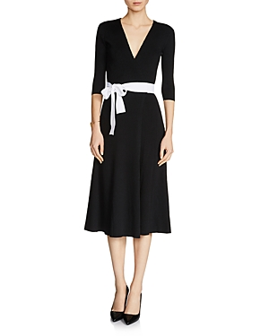 Maje Rosio Wrap Dress