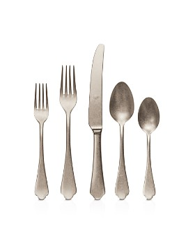 Mepra - Dolce Vita Pewter Champagne 5-Piece Place Setting