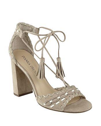 IVANKA TRUMP - Women's Karita Lace Up High-Heel Sandals