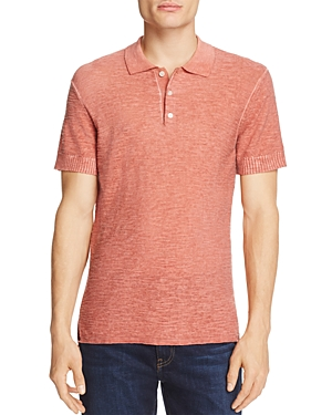 7 For All Mankind Lightweight Slim Fit Polo Sweater