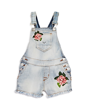 Hudson Girls' Jean Overalls - Baby