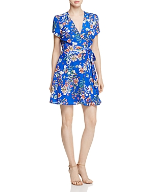 Yumi Kim Kennedy Mini Wrap Dress