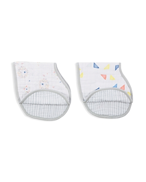Aden and Anais Infant Unisex Leader of the Pack Burpy Bibs, 2 Pack