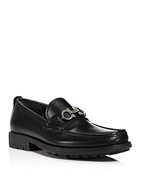 Salvatore Ferragamo - Men's David Leather Loafers - Wide