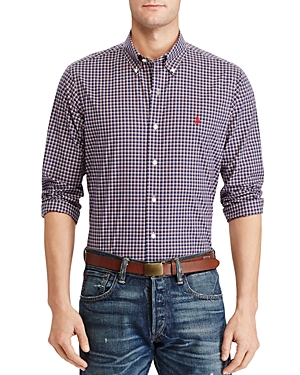 Polo Ralph Lauren Plaid Cotton Clasic Fit Button-Down Shirt