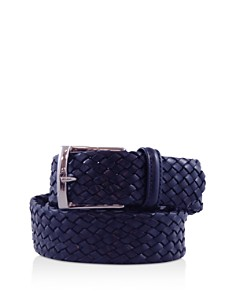 Anderson's Tubular Leather Woven Belt - Bloomingdale's_0